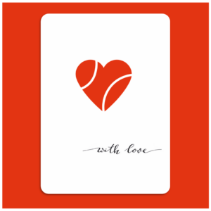 Carte A6 Collection Love_Balle Coeur