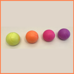 HAPPY TENNIS_4 savons balles flashy qui sentent bon