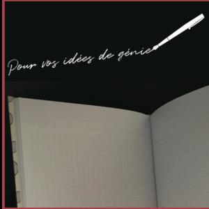 HAPPY TENNIS_Carnet de notes_Pages quadrillées