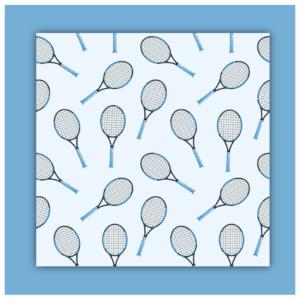 HAPPY TENNIS_Lingettes démaquillantes en coton réutilisables