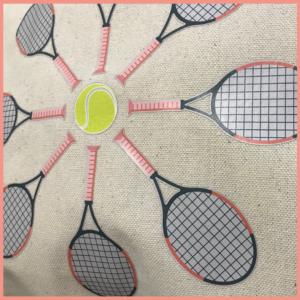 HAPPY TENNIS_Sac Tennis Flower Power_THE flower
