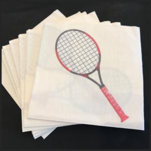 Happy Tennis_Serviettes en papier