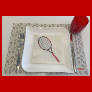 Happy Tennis_Sets de table et Serviettes