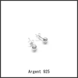 HAPPY TENNIS – Boucles d'oreille – Clous Balles de Tennis – argent 925